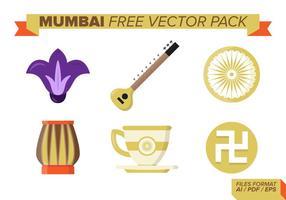 Paquete Vector Libre de Mumbai