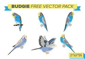 Budgie fri vektor pack