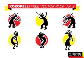 Kokopelli Free Vector Pack Vol. 2