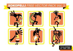 Kokopelli Free Vector Pack Vol. 3