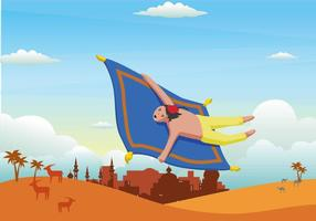 Free Magic Carpet Illustration