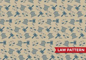 Justice Law Pattern Vector