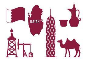 Vector de Qatar