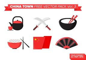 China town kostenlos vektor pack vol. 3