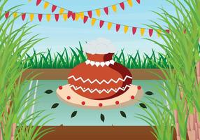 Gratis Pongal Illustration