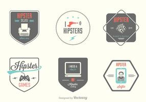 Free Hipster Vector Labels
