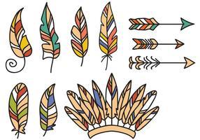Kostenlose Native American Vectors