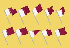 Gratis Qatar Pictogrammen Vector