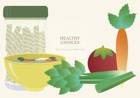 Produce Vector Illustration