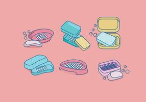Carnet de plastique de savon