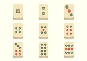 Vector libre de Mahjong