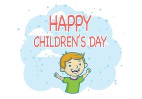 Barnens dagvektor