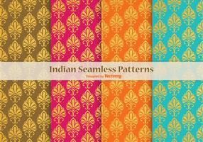 Indian-vector-seamless-patterns
