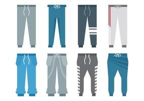 Free Sweatpants Icons Vector