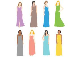 Free Bridesmaid Icons Vector