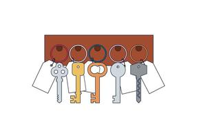 Gratis Key Holder Vector