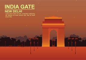 Illustrazione di India Gate gratis