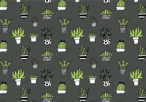 Vector-succulent-repeating-pattern