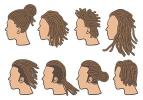 Gratis Dreads Icons Vector