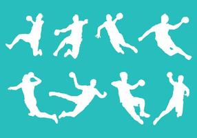 Gratis Handbal Pictogrammen Vector