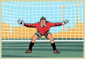 Goal Keeper Permanent Vector