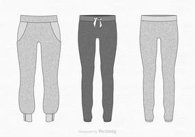 Gratis Vector Sweatpants Illustration