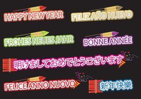 Bonne année Langues
