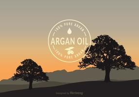 Free Argan Vector Background