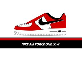 Air Force One Low Shoe