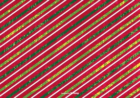 Fundo de Natal Striped Grunge