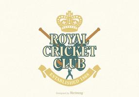 Gratis Cricket Vector Emblem
