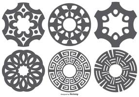 Laser Cut Vector Shapes Set