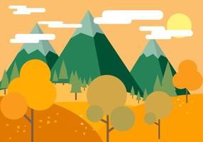 Free Beautiful Vector Autumn