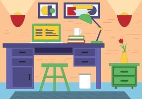 Salle de dessinateur de vecteur gratuit