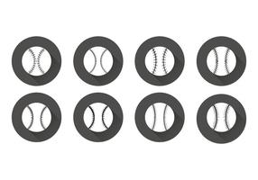 Gratis Flat Baseball Veters Vector