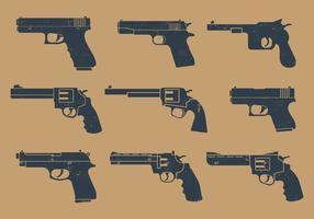Pictogramme de pistolet