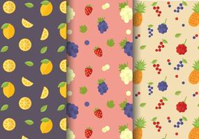 Free Citrus Fruit Pattern Vector