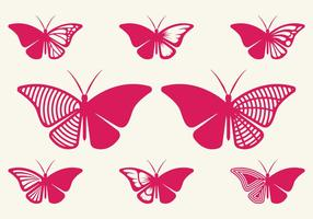 Cutout Butterfly vector