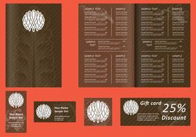 Brown Menu Templates