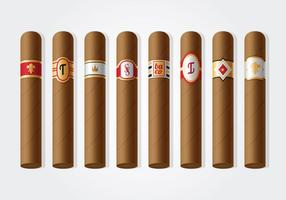 Free Cigar Label Vektor