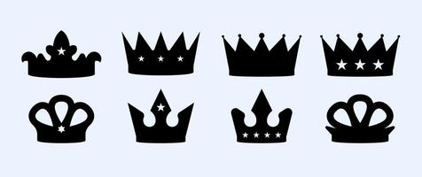 Gratis Crown Vector Set