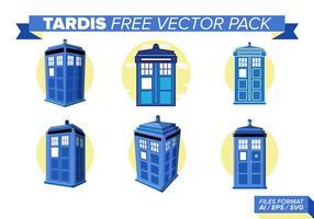 Tardis fri vektorpack
