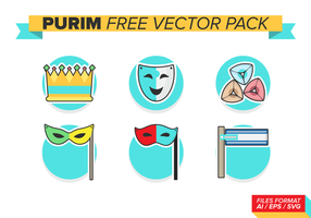 Purim Free Vector Pack