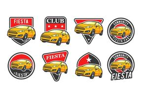 Gratis Car Vector Badge