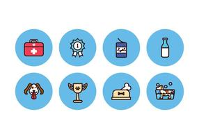 Free Dog Icons vector