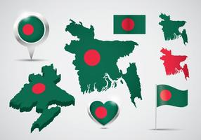 Gratis Bangladesh Vector Set