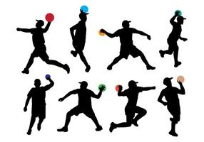 Free Dodge Ball Icons vector