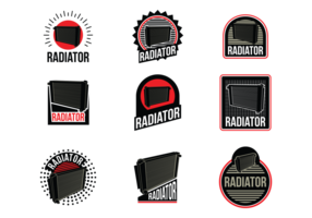 Radiator vector labels