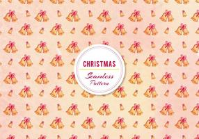 Gratis Vector Jul Bell Pattern