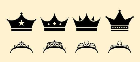 Free Crown Set vector